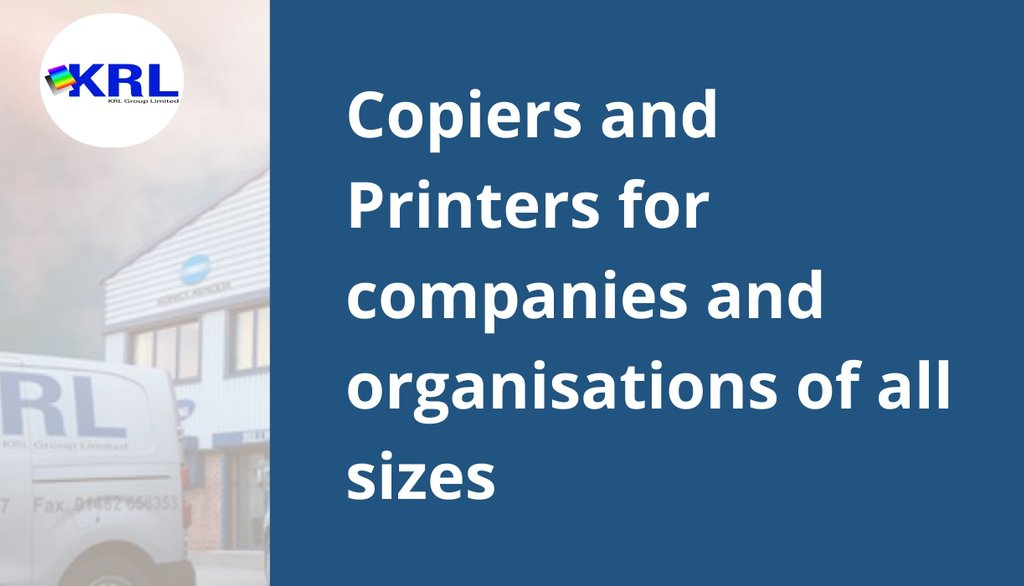 The Smart Choice for Office Copy and Print: https://t.co/fCc5NDG483  #KRLGroup #Hull #EastYorkshire #Lincolnshire https://t.co/O26KCRlU5I