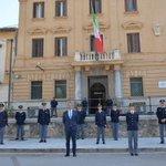 Image for the Tweet beginning: I 168 anni della Polizia