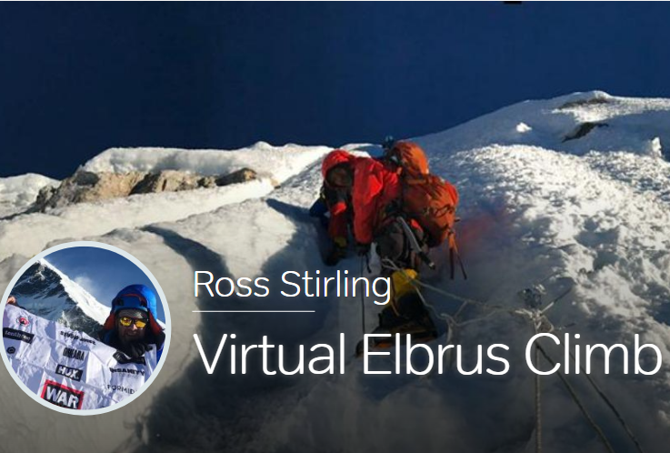 Big shout out to Ross Stirling who is raising funds for us and the NHS by climbing Mount Elbrus tomorrow - in his flat!! https://t.co/dpH5SF40Ze https://t.co/0nJRJ6YXhj