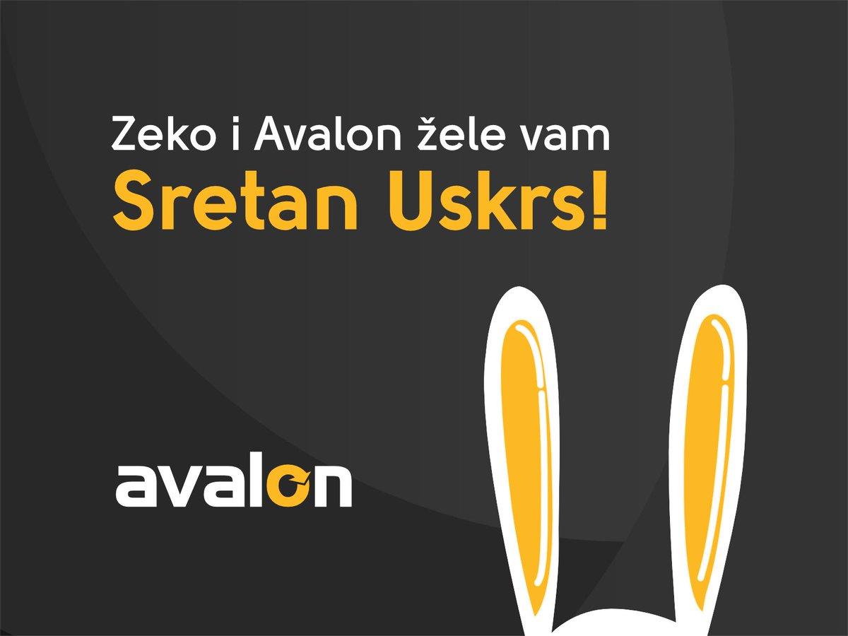 Ovaj Uskrs Avalon vas nagrađuje: svim novim korisnicima poklanjamo 50% popusta za nove pakete za prvu godinu korištenja, a postojećim korisnicima poklanjamo 50% popusta za svaku nadogradnju na postojeći paket za prvu godinu korištenja. Promokod: USKRS2020 #sretanuskrs https://t.co/5raSXRNHbk