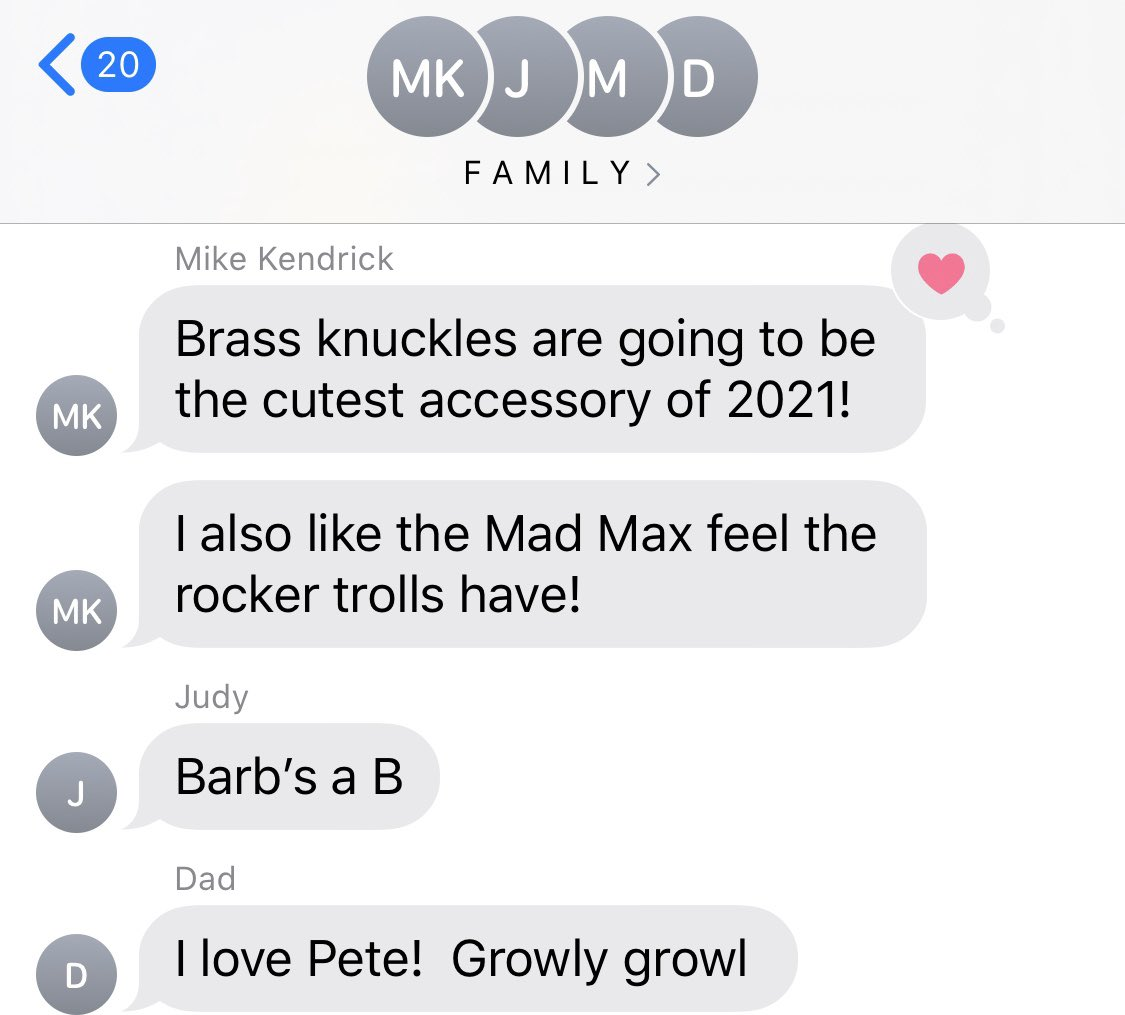 The Kendrick family group chat during the #TrollsWatchParty 🤣 I hope all of you guys had a much fun as I did 🌈🥰