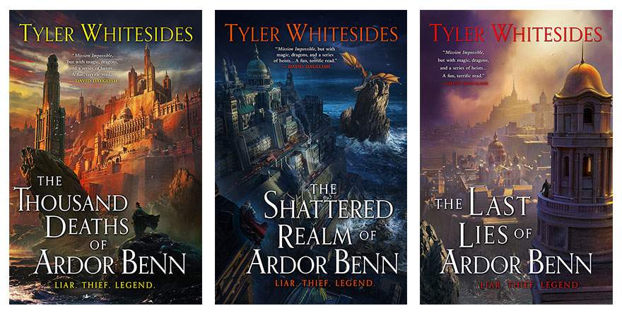 "Orbit Books on Twitter: ""We're thrilled to announce that THE THOUSAND  DEATHS OF ARDOR BENN by @twhitesides is getting a stunning new cover—and  two more books to complete The Kingdom of Grit"