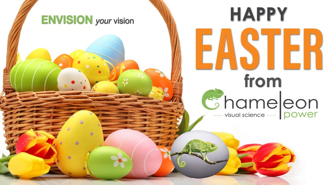 Happy Easter! #ChameleonPower #happyeaster #easter2020 #visualizer #roomvisualizer #visualscience https://t.co/DlLfl5NSpE