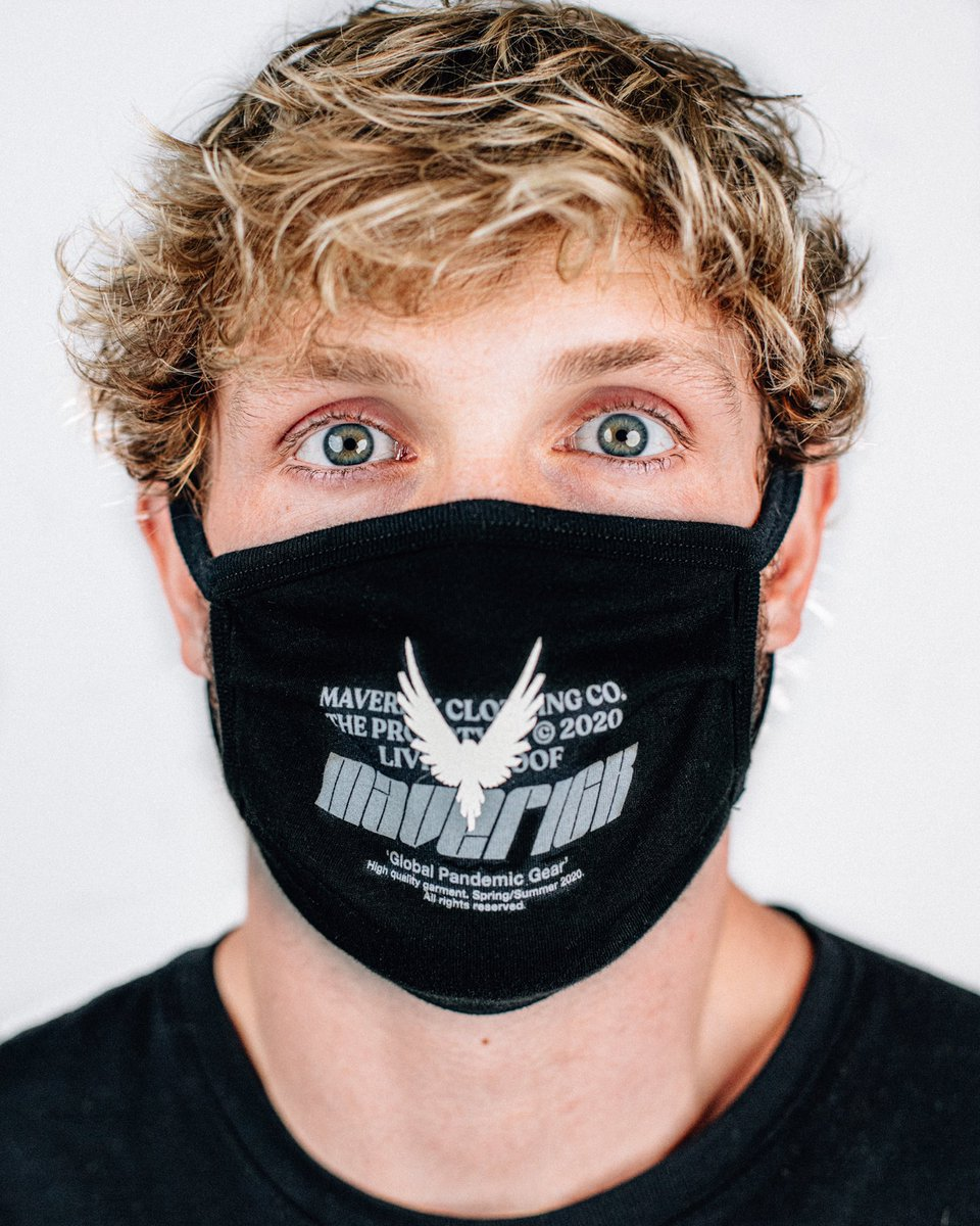 Logan Paul Merch face mask