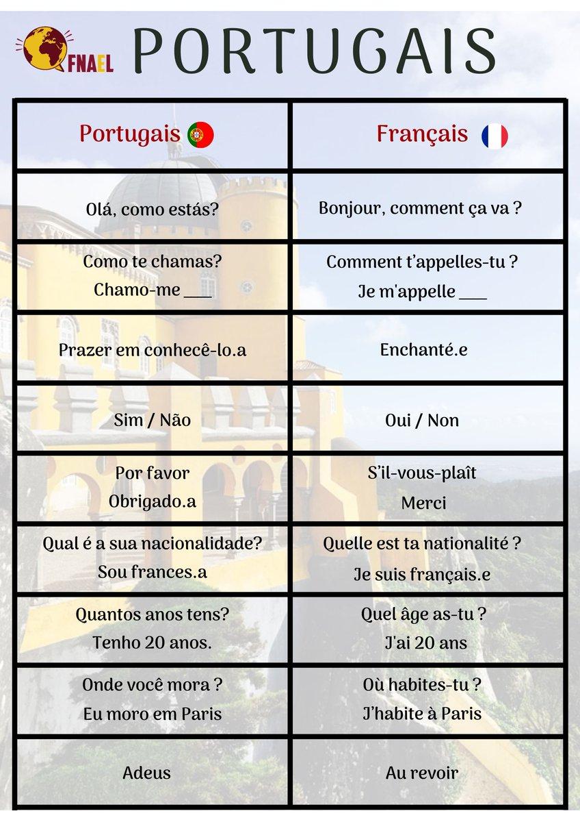 Fnael On Twitter Le Tour Du Monde Des Langues Nous Allons Pour Ce Deuxième Post Vous Parler De La Langue Portugaise Le Portugais Fait Partie Des Langues Dites Indo Européennes Nous