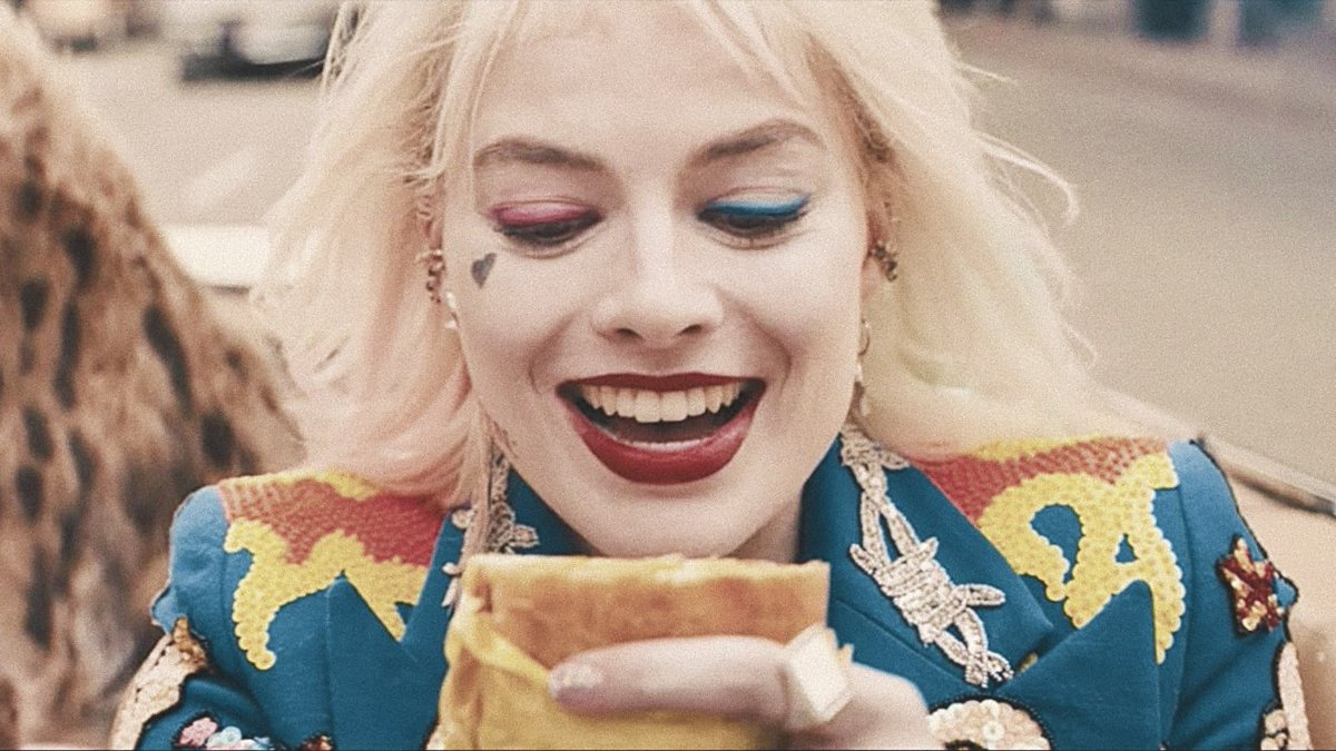 Jay On Twitter Harley Quinn Losing Her Egg Sandwich Then Being Reunited With One At The End Of Birds Of Prey I Love A Happy Ending Https T Co Qppem3wcte
