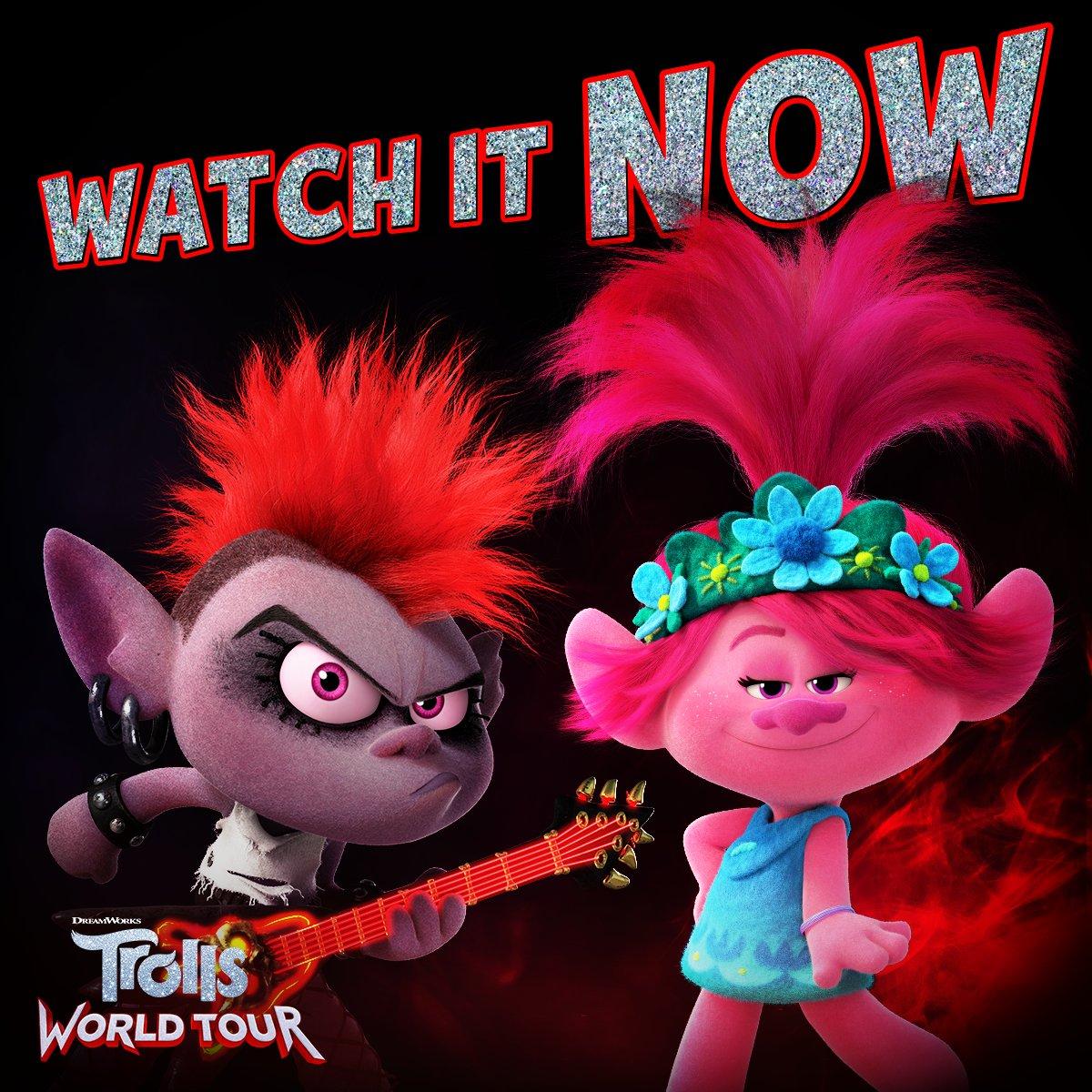 Watch #TrollsWorldTour at home on demand now. https://t.co/HXgkSXvA1e https://t.co/rN5uYknPef