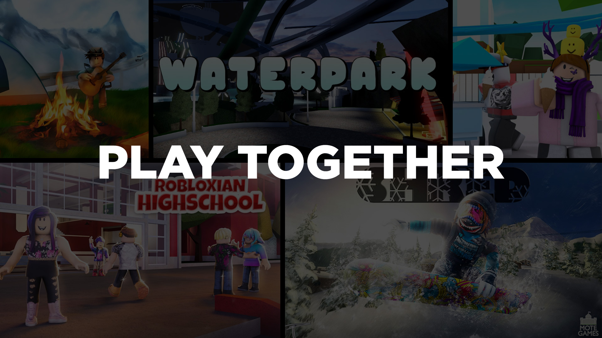 Roblox On Twitter Every Game On The Play Together Sort Offers