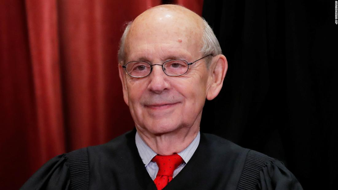 Justice Stephen Breyer reflects on the Supreme Court and life in isolation cnn.it/34pi3X8