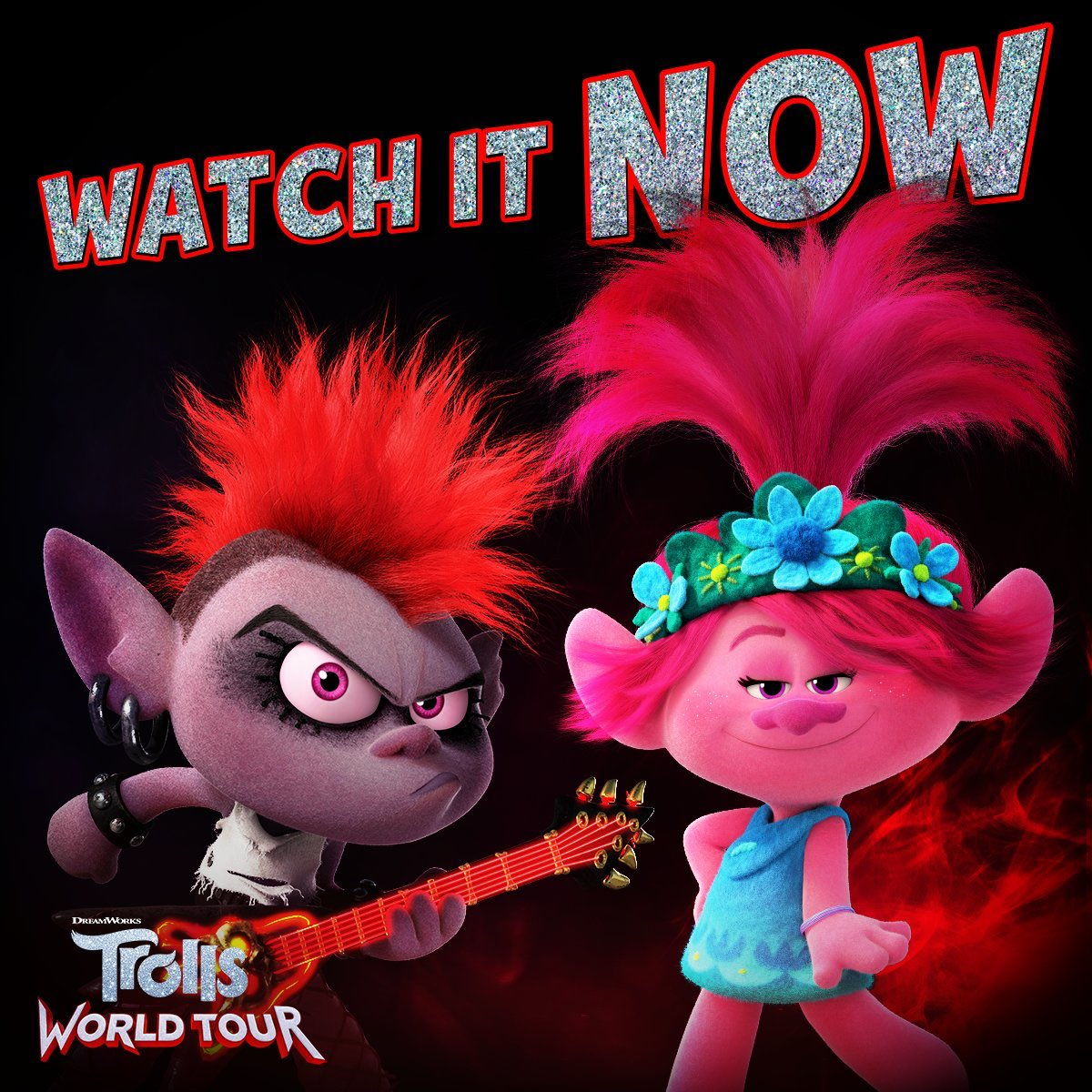 Who's ready to start watching????!! #TrollsWatchParty WatchTrolls.com