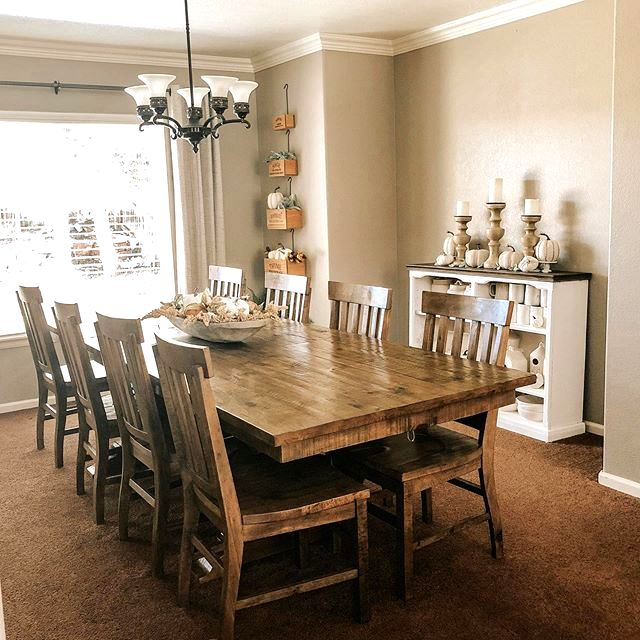 Furniture Row On Twitter We Re In Love With This Sunny Dining Room Filled Natural Wood Tones And Contrasting Cream Accents Shop Https T Co Z8sbnpyghm Ig Wickless Scents7 Get Free Store To