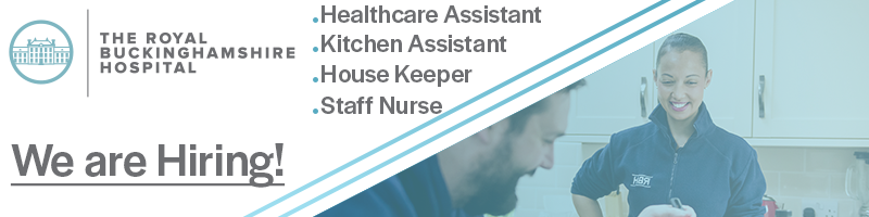 Has #COVID19 shut down your bar or restaurant leaving you redundant? Then consider starting a career with The Royal Buckinghamshire Hospital, we have a variety of vacancies which include Catering, Housekeeping and Healthcare Assistants! https://t.co/vMpfxGQOGw  #ukihma #hospital https://t.co/B8YbxFC6j9