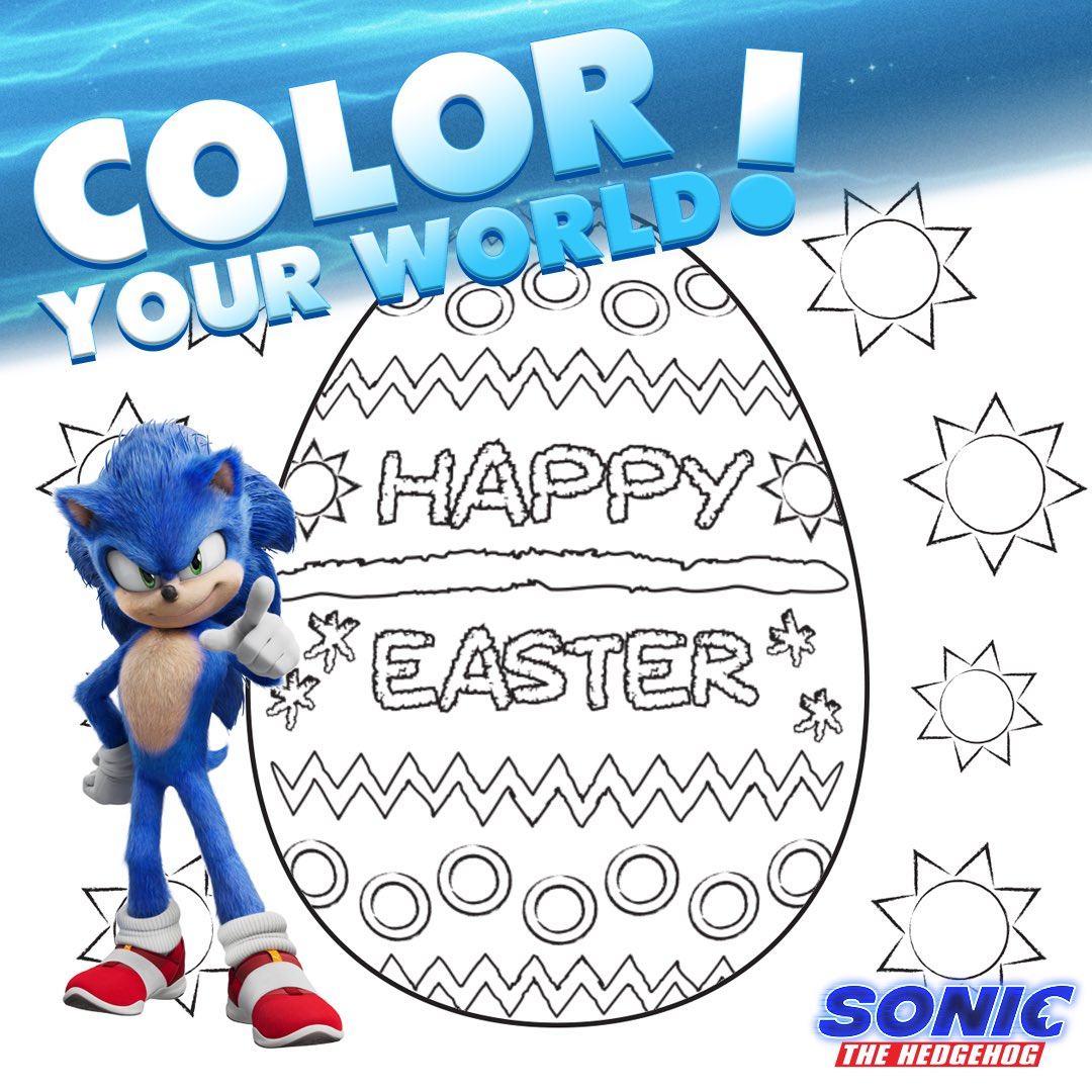 Sonic The Hedgehog On Twitter Brighten Up Your Easter Weekend