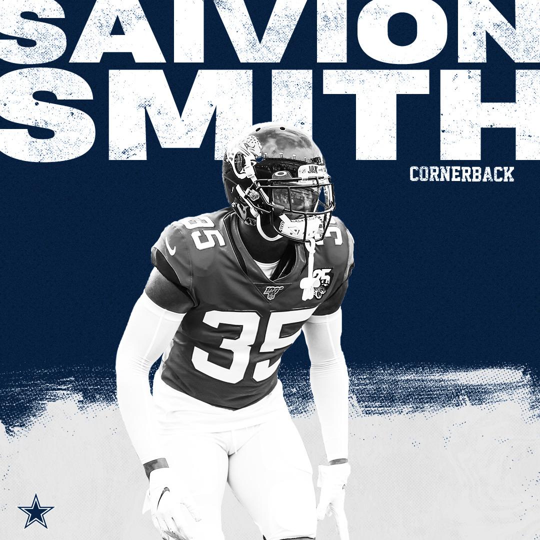 The #DallasCowboys have signed CB Saivion Smith.  FA Tracker → https://t.co/jKxVImcYgK https://t.co/iJl8dmJUFO