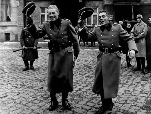 Happy birthday Omar Sharif - with Peter O\Toole on the set of The Night of the Generals (1967, Anatole Litvak)