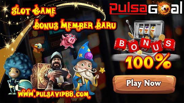 judi slot bonus new member 100