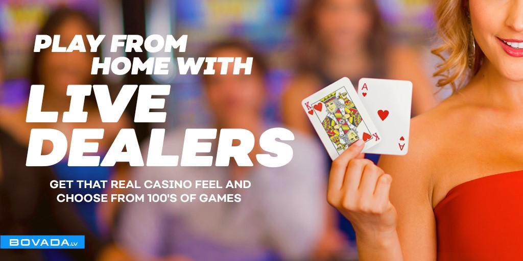 Bovada On Twitter Have You Tried Bovada Live Dealer Games