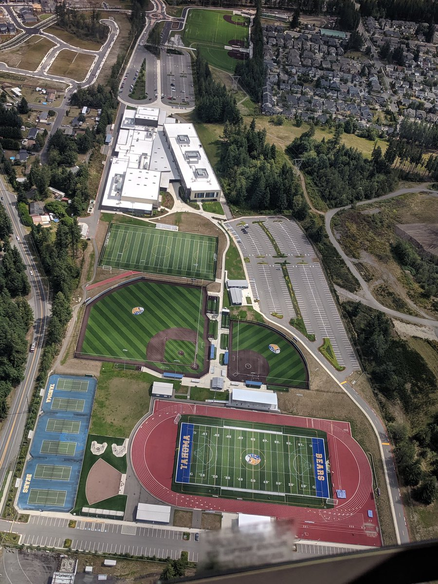 In honor of our Bear Seniors: On Friday, April 17 at 8:20 pm (20:20) all high schools in Washington state are going to turn on their stadium lights to honor the Class of 2020. Tahoma HS Field lights will be shining bright ...#BeTheLightWA