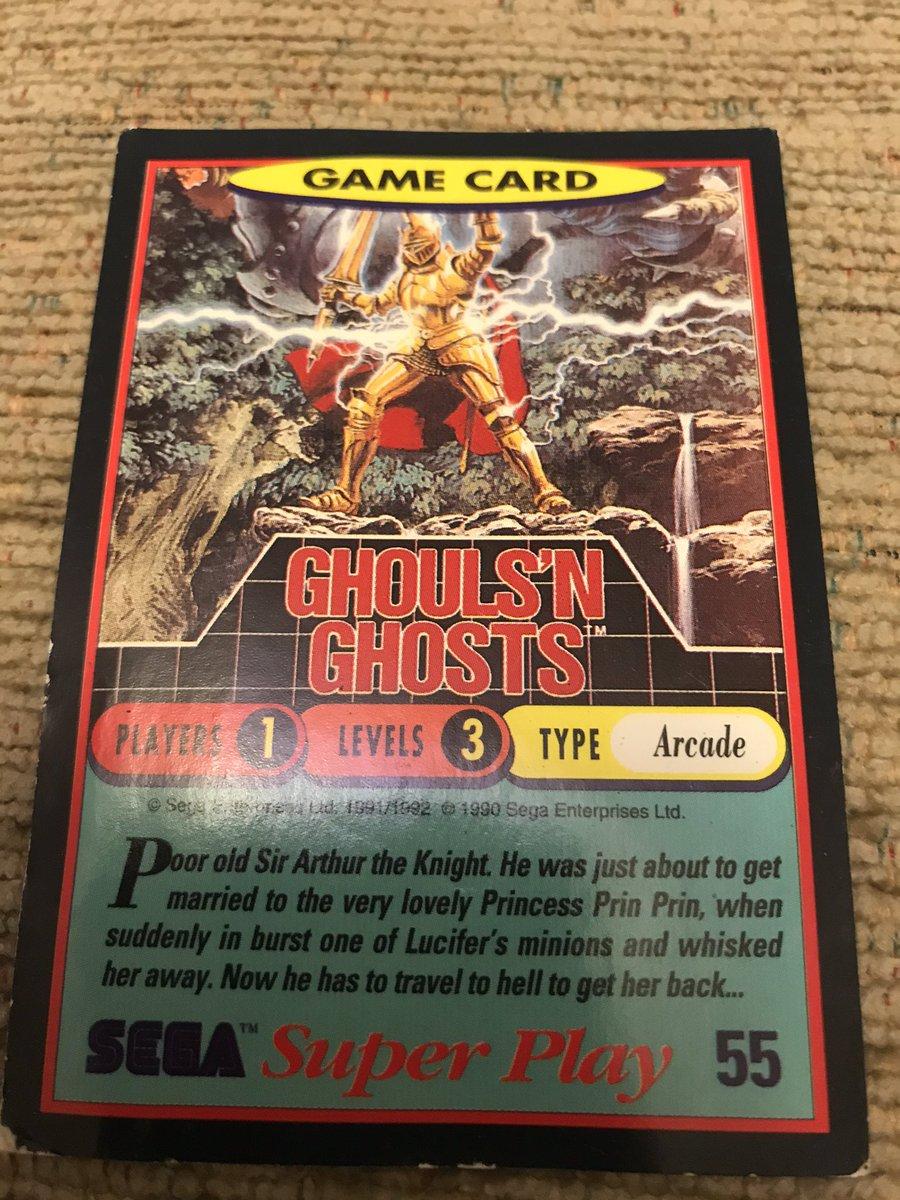 #nostalgia #retro #retrogaming  #ghoulsnghosts #toki #vintage #oldschool #blastfromthepast #cards #collector