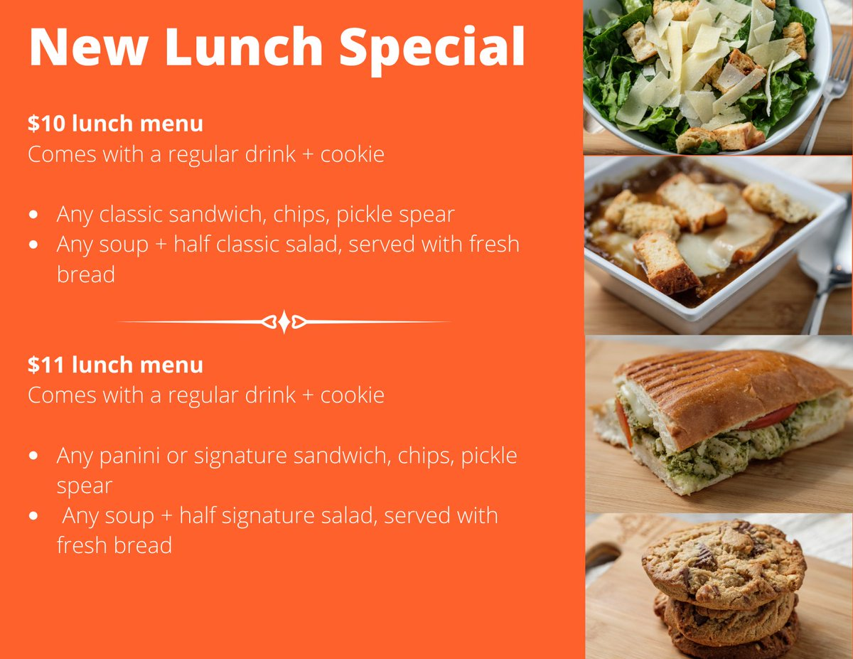 It's #TakeYourKidtoWorkDay! Are the kids popping up on your zoom calls at home? Keep them busy with a lunch special that's perfect for the whole family! https://t.co/471W4QjS1g
