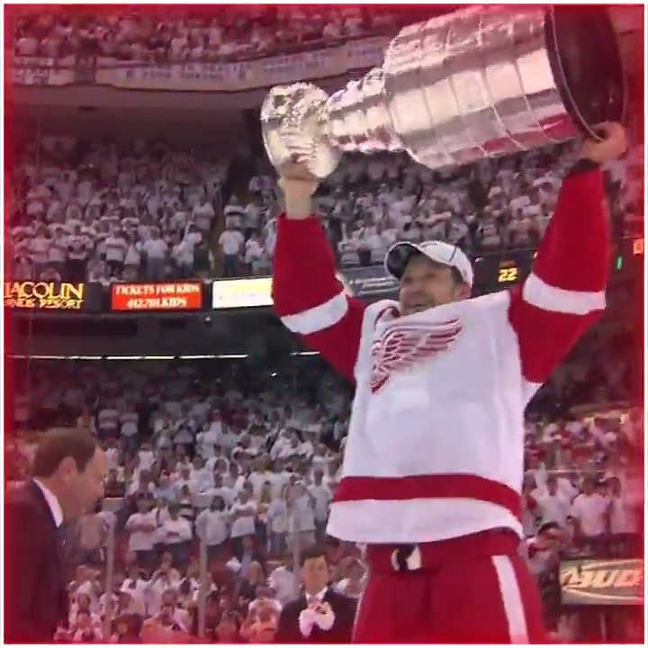 Relive the 2008 Stanley Cup Final. Game 6 Red Wings vs. Penguins TOMORROW on NBC.