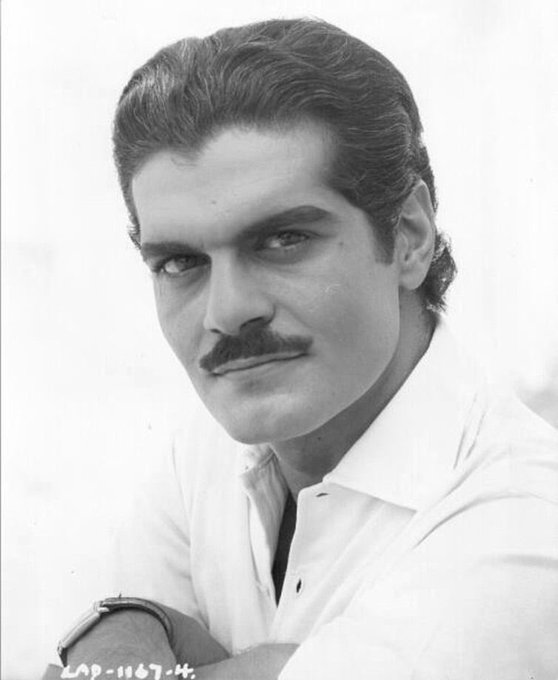 Omar Sharif was fine as buttered biscuits and champagne on a Sunday afternoon.   Happy heavenly birthday to him