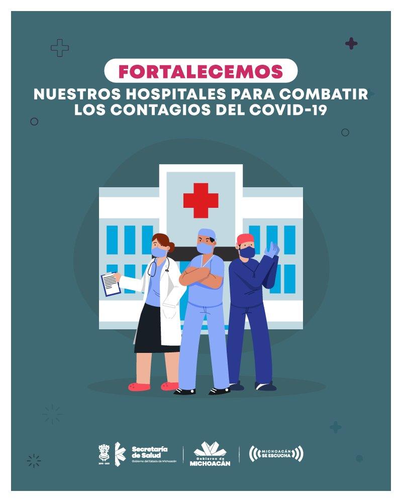 Gobierno de Michoacán eleva sueldo de personal médico al 60 por ciento