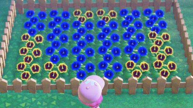 花壇 柵 森 あつ