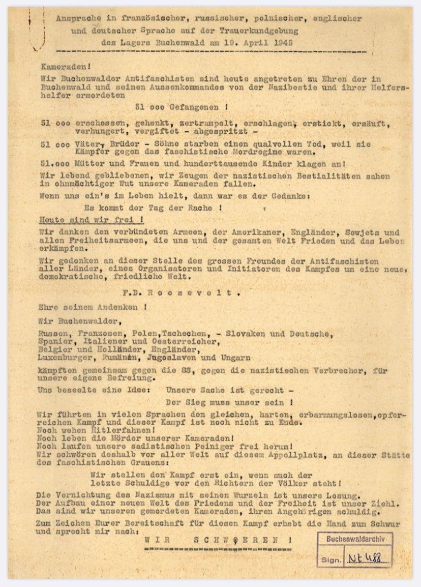 #Buchenwald