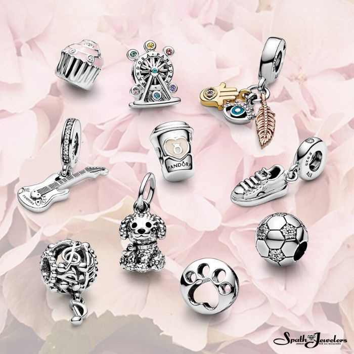 Which of these Pandora charms would you choose?  #Pandora #PandoraCharms #PandoraJewelry #Charms #CharmsCollection #SpathJewelers #Bartow #Valrico