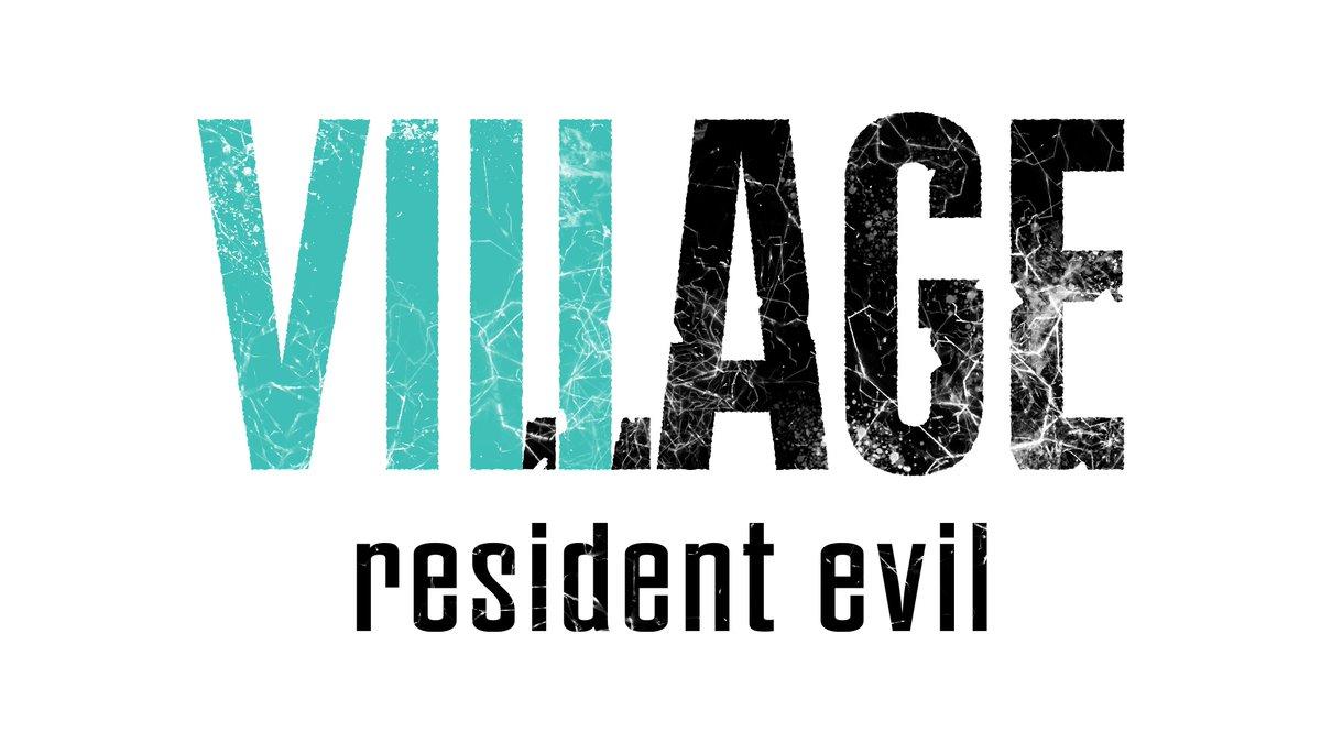 resident evil 8 logo