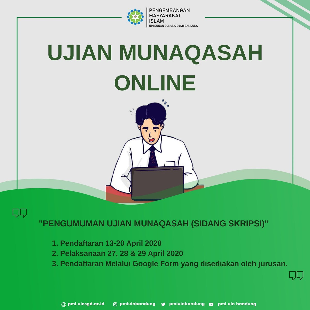 Pengembangan Masyarakat Islam Uin Bandung Pmiuinbandung Twitter