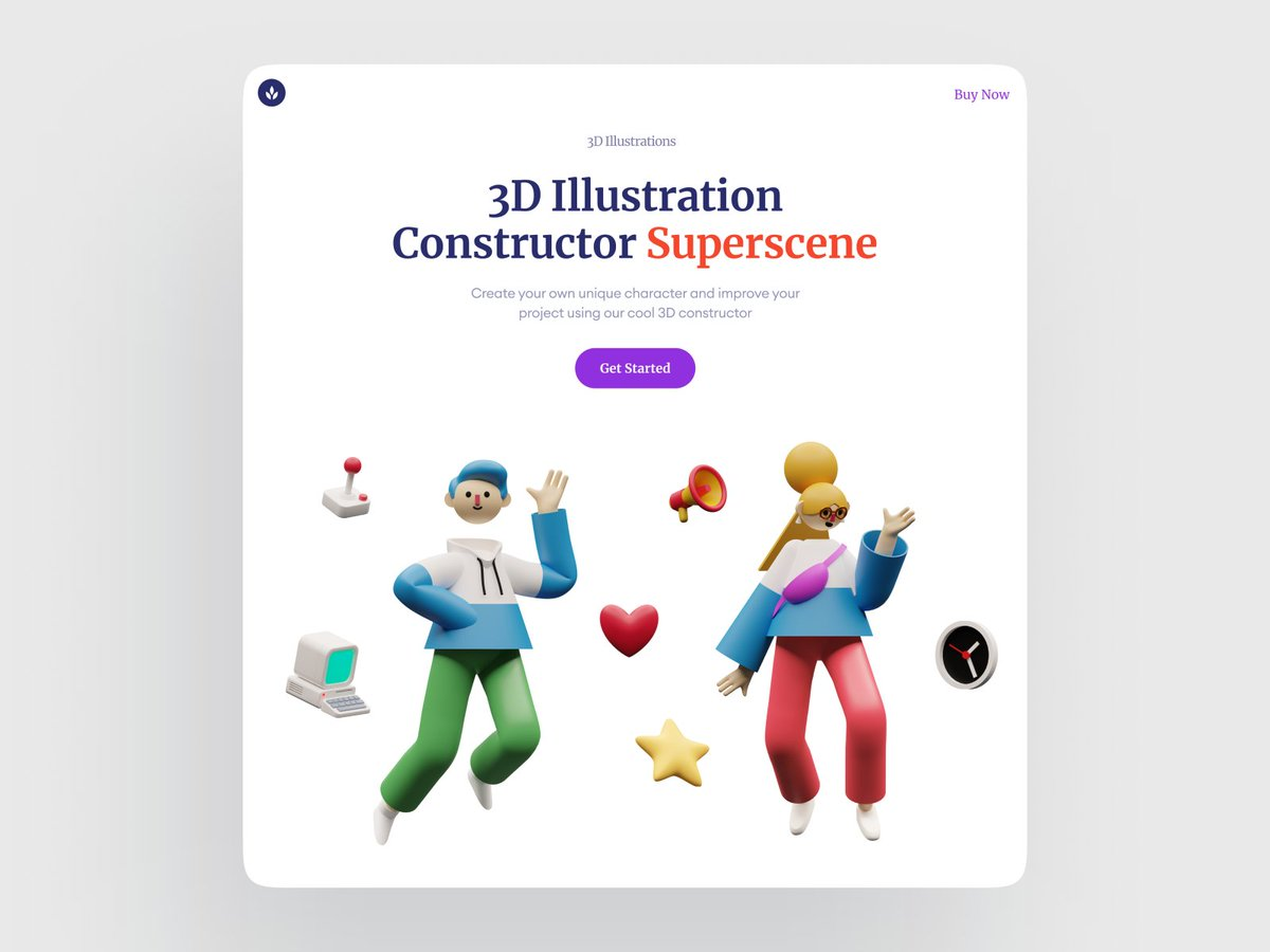 Have a nice weekend with our lovely 3D friends Emily and Brad  Everything you need to have fun is in Superscene Constructor   https://www.instagram.com/p/B-y9ea2gLUX/  #3d #illustration #constructor pic.twitter.com/gQsJhgqZx1