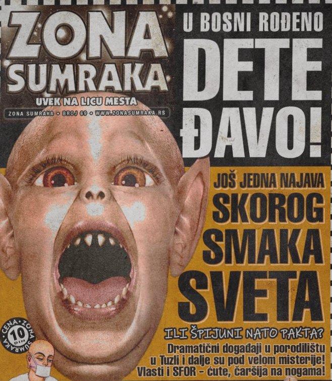U Bosni rođeno dete–đavo!!!