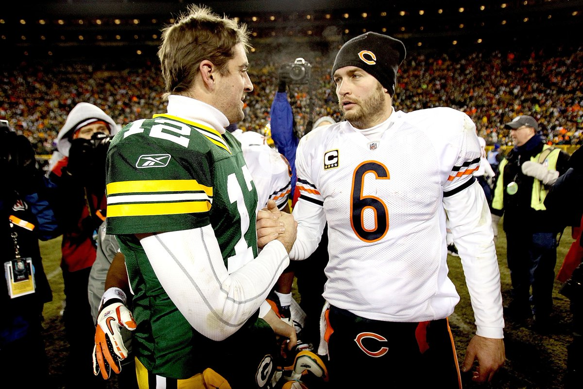 @BreakingLu @YESNetwork Are they regular season wins?   I need the outcome to be uncertain or a game 7 to be interested in Baseball Replays but I have been watching #GBvsCHI #2010NFCChampionship on the @NFL's @YouTube page. #TheBearsStillSuck