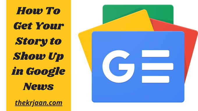 Get Your Story to Show Up in Google News