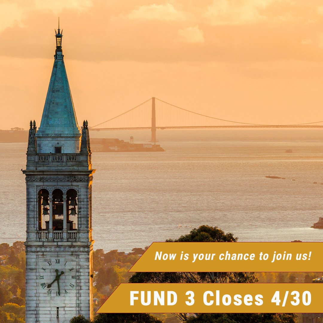 Hundreds of UC Berkeley alums and friends are already investing with Strawberry Creek Ventures and you can too! Interest in this year's fund has been the strongest of any fund thus far. Schedule a call to talk to us about investing in Strawberry Creek 3: https://t.co/jlMX8jwQW1 https://t.co/R8jOeu4mpo
