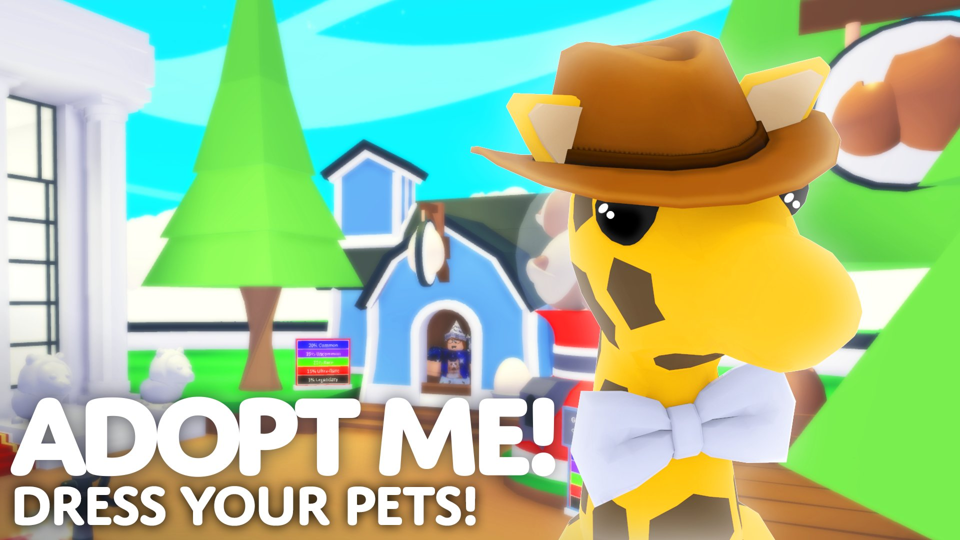 Cute Roblox Adopt Me Halloween Outfits Adopt Me On Twitter Pet Wear Update Is Live You Can Now Dress Your Pets Make Your Pets Stand Out In The Crowd Hat Shop Items Rotate Every