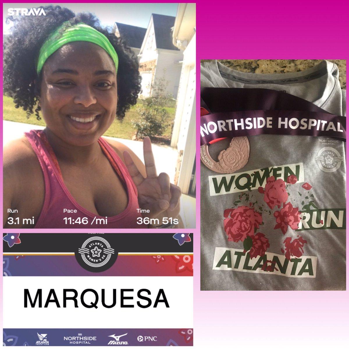 Completed the ATC Northside Hospital Atlanta Women's 5K virtually in my neighborhood!! Great job to all the ladies participating this weekend!! #AW5K  #ATC  #TeacherRunner <br>http://pic.twitter.com/JnMvkTfkuZ