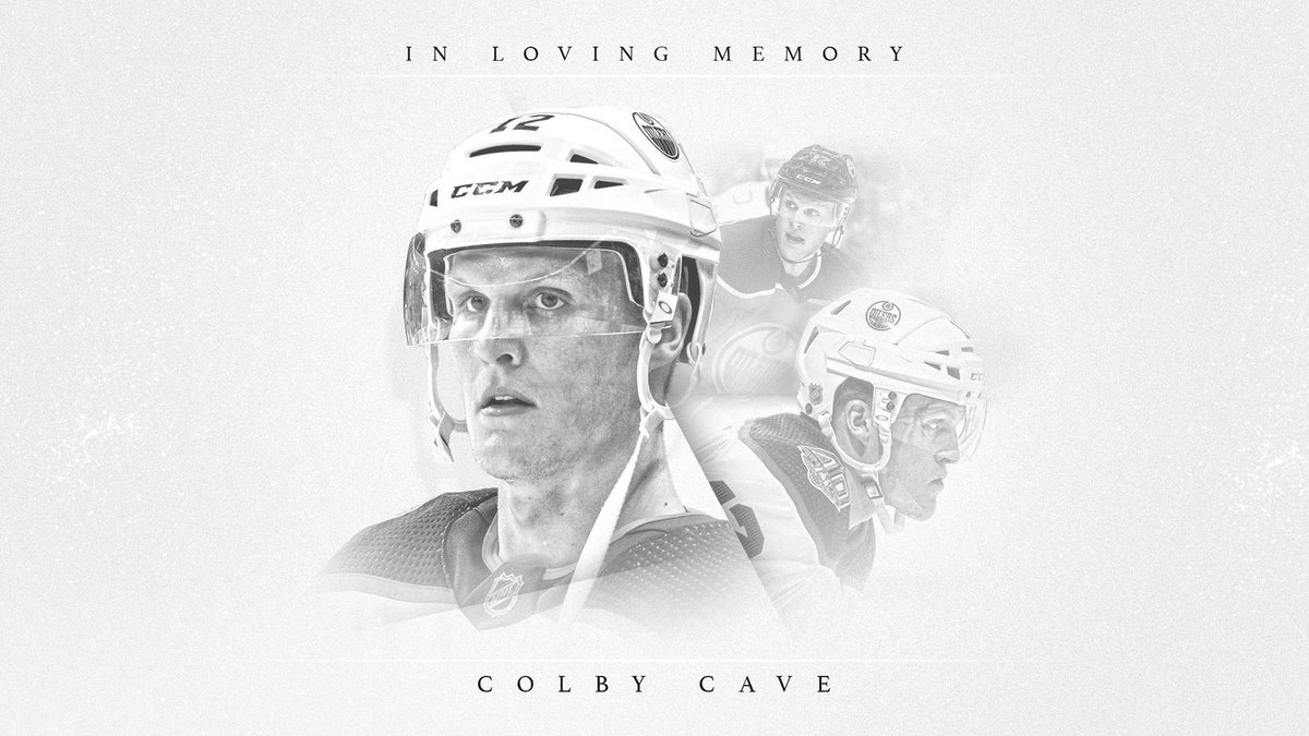 Today we mourn the passing of @EdmontonOilers forward, Colby Cave.   More: https://t.co/zfzRpkPP0g https://t.co/1Y2nEalwnz