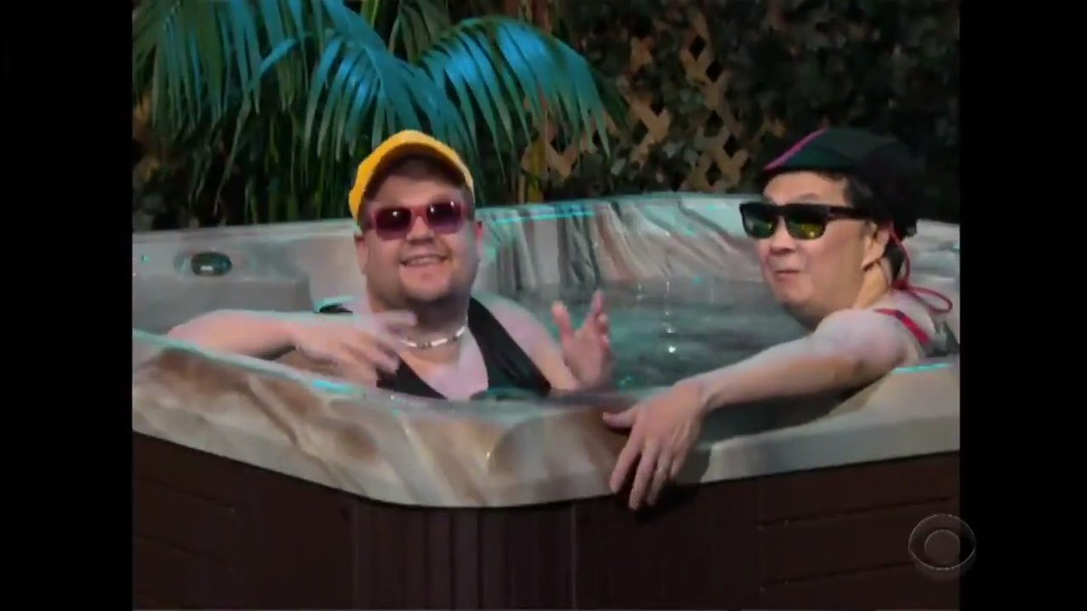 .@kenjeong and @JKCorden starred in a few commercials together before making it big youtu.be/RS2xOqYNnSA