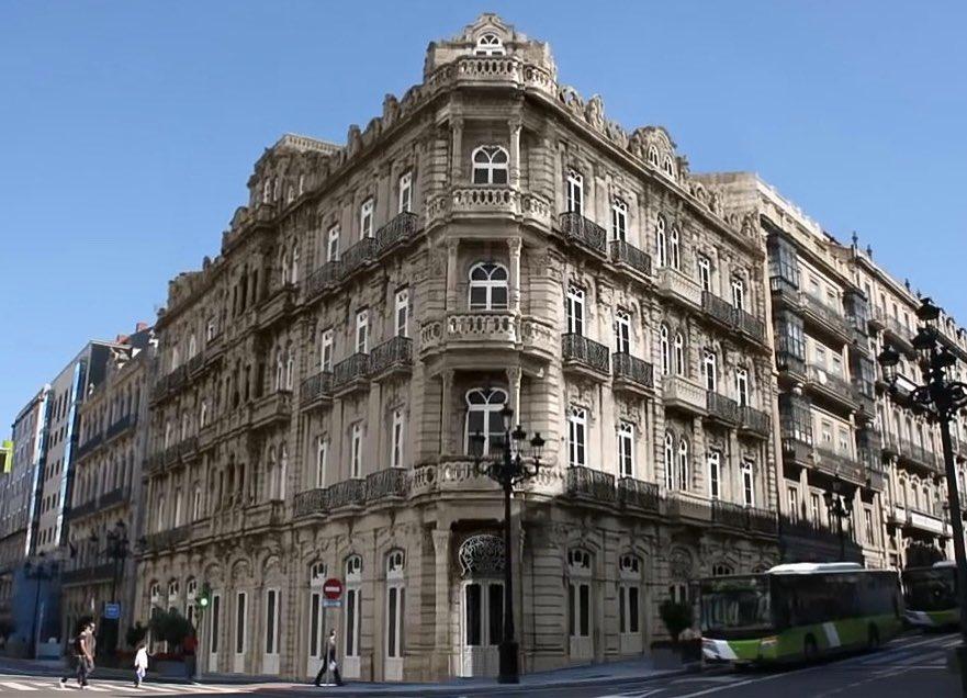 """MaltratodaPaisaxe on Twitter: """"EDIFICIO RUBIRA #Vigo Substituído polo  Edificio BBVA #ArquitecturaPerdida @Vigoblog @arquitectosCOAG… """""""