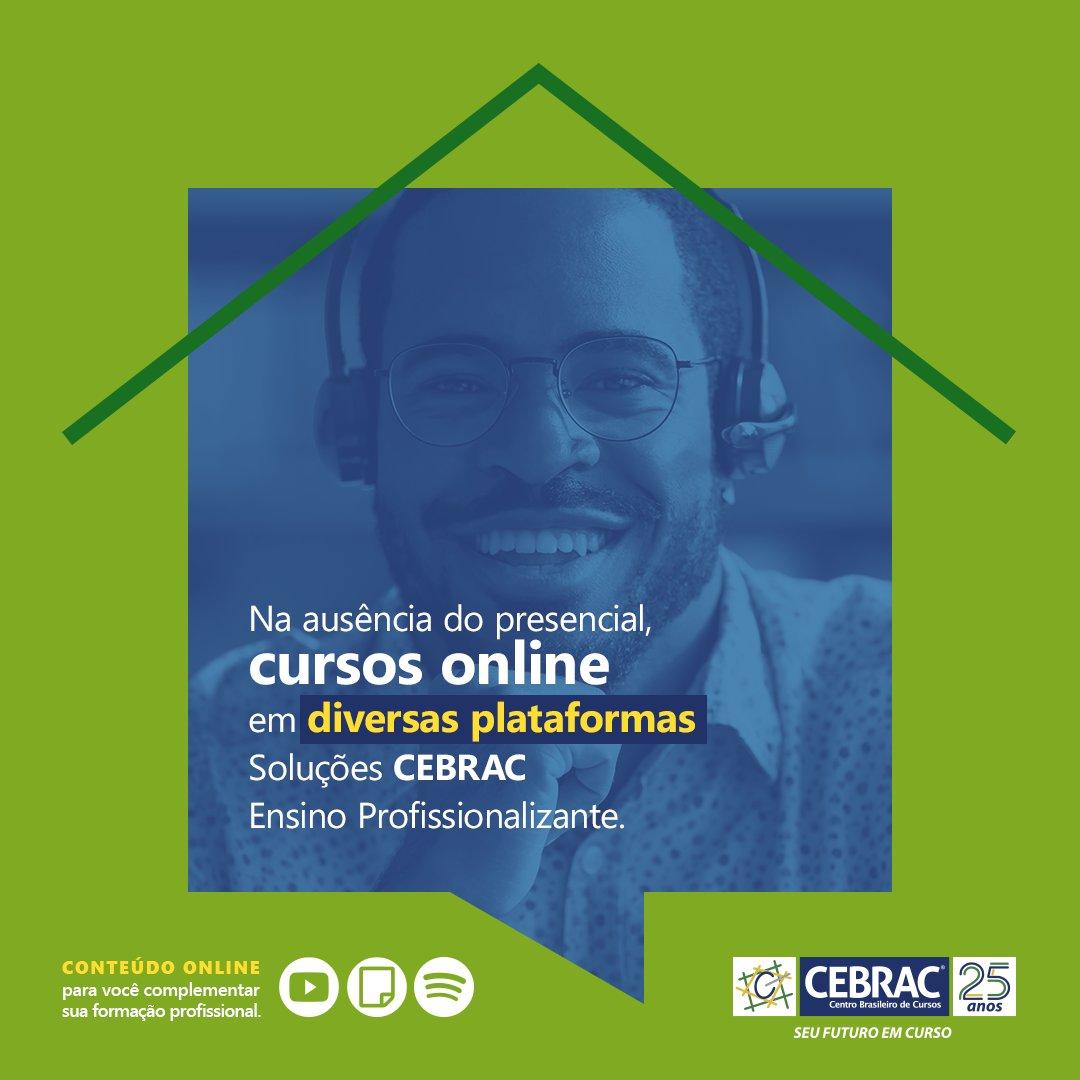 O #Cebrac não para! Nossa aprendizagem continua de forma online em diversas plataformas para nossos alunos. 💚 https://t.co/fEqoPn2vT3