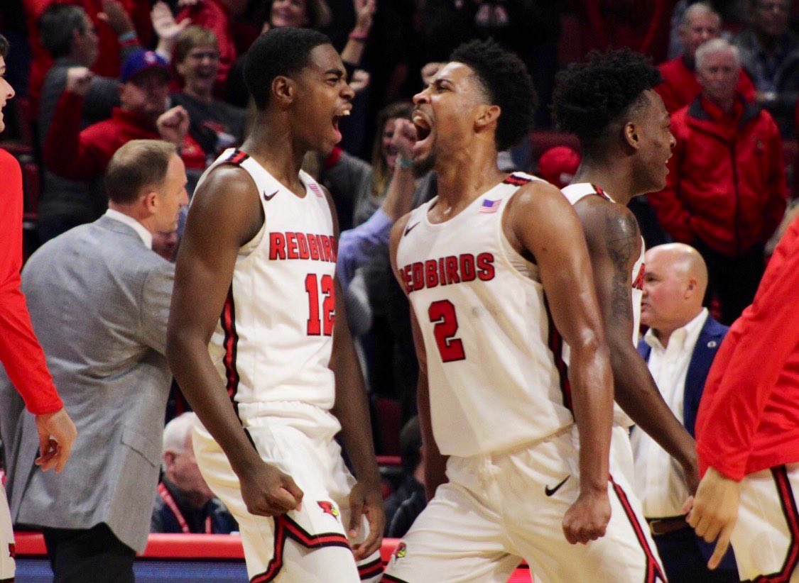 Gallery: Missing sports? Rewind @Redbird_MBB's 2019-20 season with some of our favorite shots to get you through. #REDBIRDhoops  :  http:// bit.ly/39XiRUw       #ViddyBirds<br>http://pic.twitter.com/BtqoW3sSez