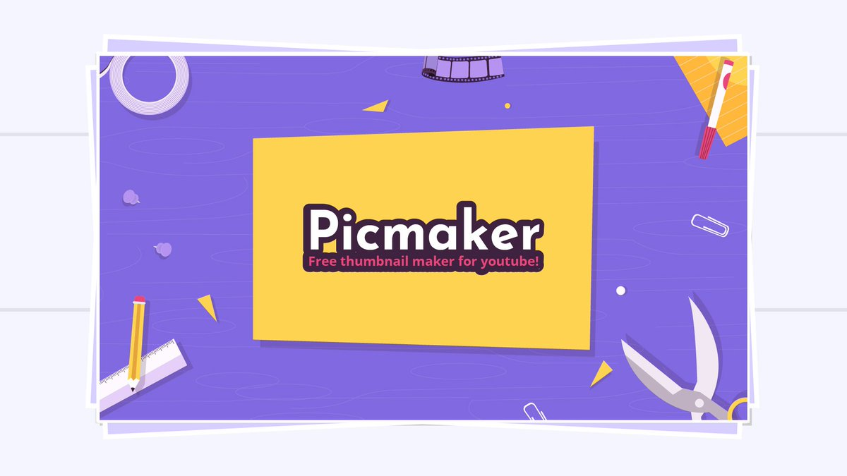 Picmaker: best Online YouTube Thumbnail Makers