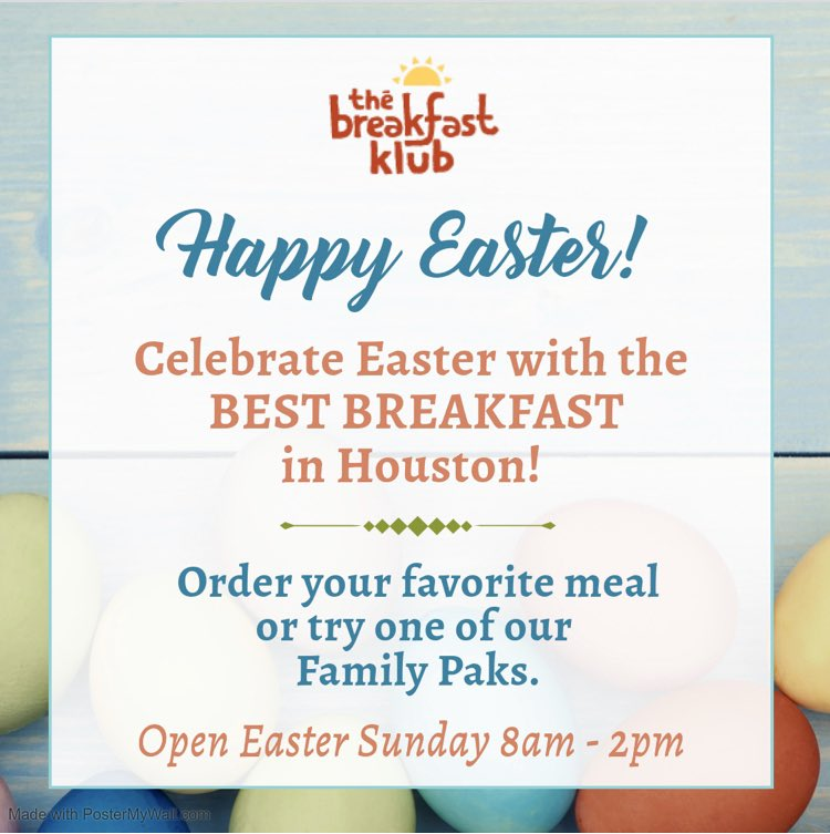 Let @katfishandgrits do the cooking for you!  Easter Sunday is almost here and they have the perfect solution for breakfast.  Their Family Paks are the perfect choice for the occasion. Call ahead or order online and pickup.  #happyeaster #eastersunday #supportsmallbusiness https://t.co/zSU2VWwetD