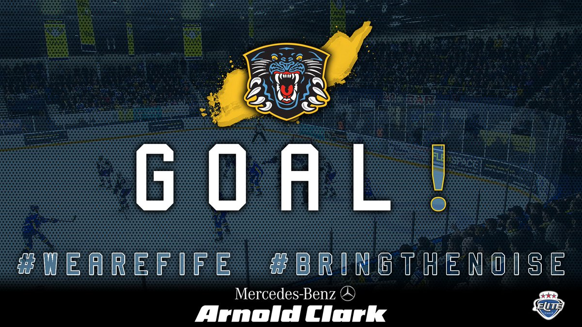 46:35 | Panthers Score a 3rd through Luke Pither.   Assisted by Justin Kovacs   @PanthersIHC are fighting back here in the 3rd  Flyers  Panthers #WeAreFife #BringTheNoisepic.twitter.com/iU3qN9ri7m