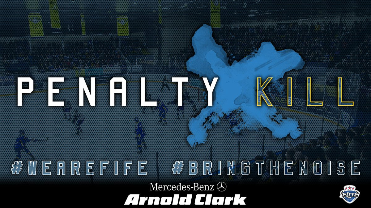 58:01 | Carlo Finucci to the bench for Holding the Stick.  Can the Panthers pull another goal back on in the last 2 mins of the game?  6 on 4 in favour of the Panthers  #WeAreFife #BringTheNoisepic.twitter.com/ksCwFjyPNZ