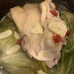 自炊力が成長してる自分が作ったと信じられないくらい美味しいけど簡単にできる「洋風レタス鶏鍋」