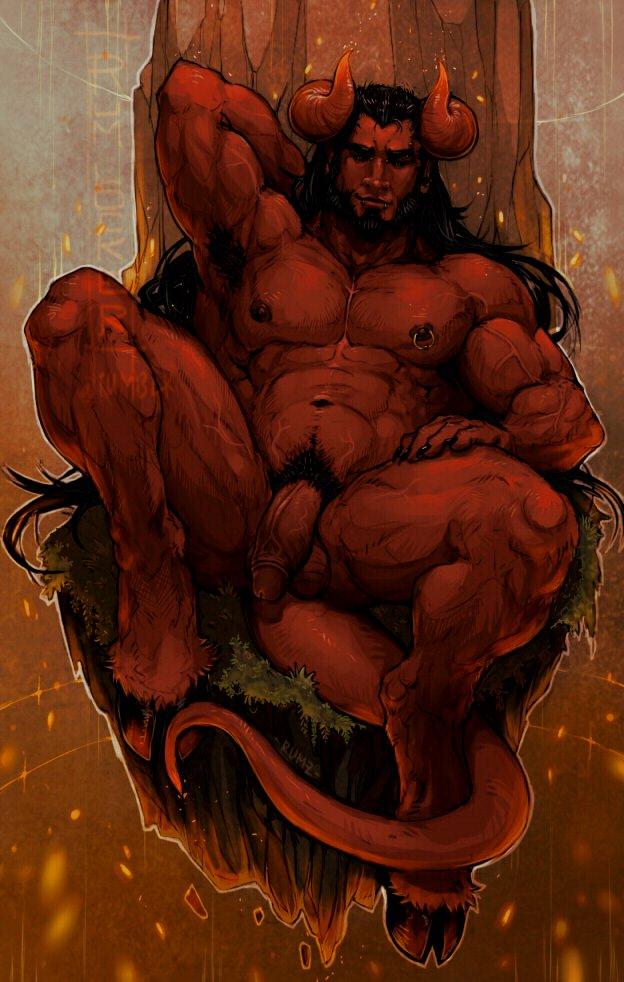 Naked satan gay